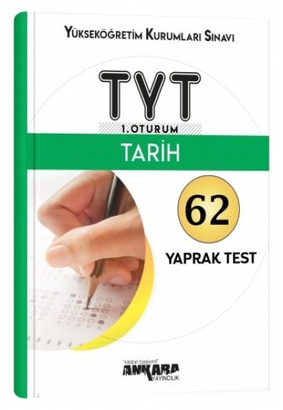 Ankara TYT Tarih Yaprak Test