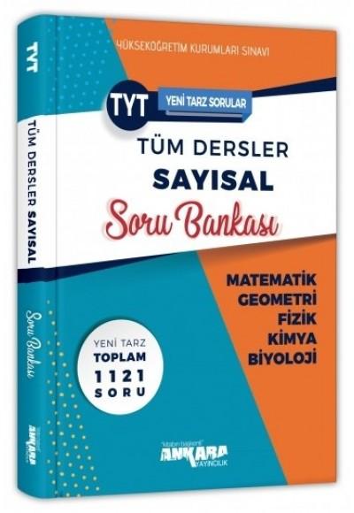 Ankara YKS TYT Tüm Dersler Sayısal Soru Bankası