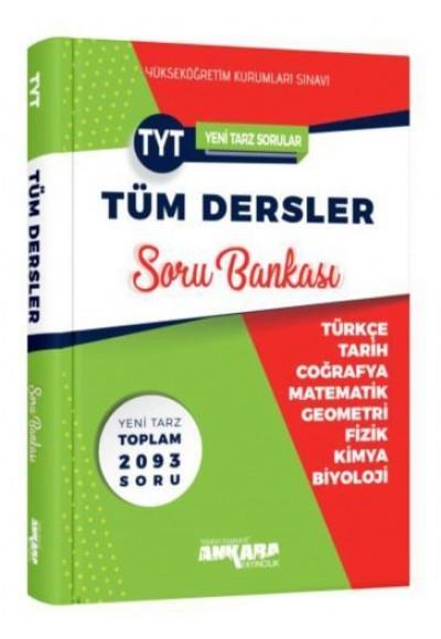 Ankara YKS TYT Tüm Dersler Soru Bankası
