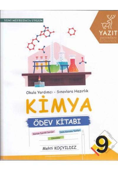 Yazıt 9. Sınıf Kimya Ödev Kitabı (Yeni)