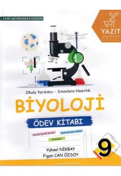 Yazıt 9. Sınıf Biyoloji Ödev Kitabı