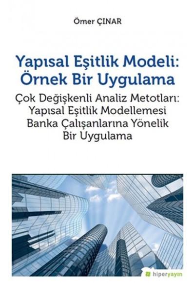 Yapısal Eşitlik Modeli Örnek Bir Uygulama