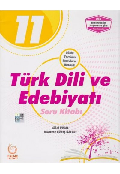 Palme 11. Sınıf Türk Dili ve Edebiyatı Soru Kitabı Yeni