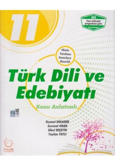 Palme 11. Sınıf Türk Dili ve Edebiyatı Konu Anlatımlı Yeni