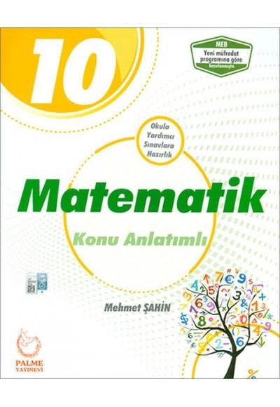 Palme 10.Sınıf Matematik Konu Anlatımlı Yeni
