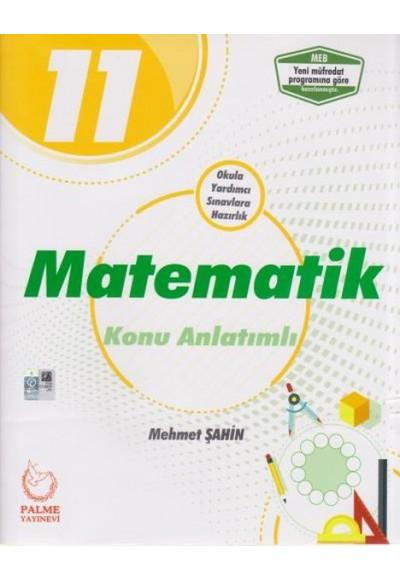 Palme 11. Sınıf Matematik Konu Anlatımlı Yeni