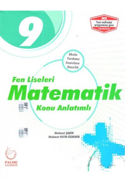 Palme 9. Sınıf Fen Liseleri Matematik Konu Kitabı (Yeni)