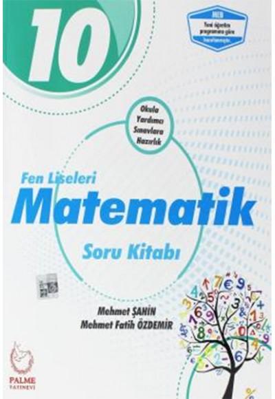 Palme 10.Sınıf Fen Liseleri Matematik Soru Kitabı (Yeni)