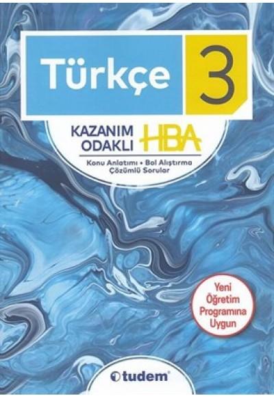 3. Sınıf Türkçe Kazanım Odaklı HBA
