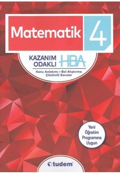 4. Sınıf Matematik Kazanım Odaklı HBA