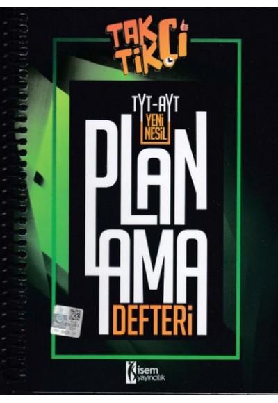 İsem 2021 TYT AYT Taktikçi Yeni Nesil Planlama Defteri