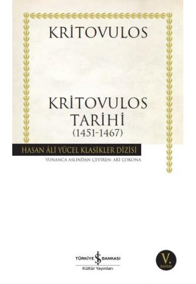 Kritovulos Tarihi 1451 1467 Hasan Ali Yücel Klasikleri