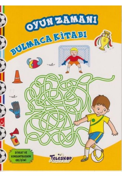 Oyun Zamanı Bulmaca Kitabı
