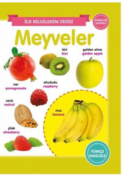 Meyveler İlk Bilgilerim Dizisi