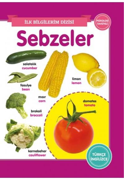 Sebzeler İlk Bilgilerim Dizisi
