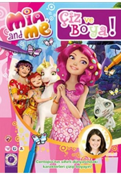 Mia and Me: Çiz ve Boya 4