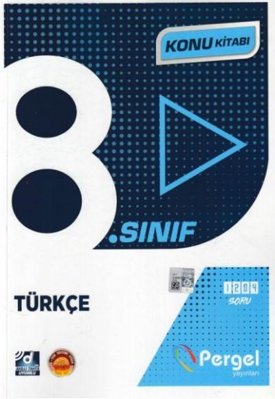 Pergel 8. Sınıf Türkçe Konu Kitabı (Yeni)