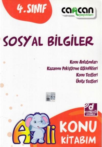 Cancan 4. Sınıf Sosyal Bilgiler Afilli Konu Kitabım (Yeni)
