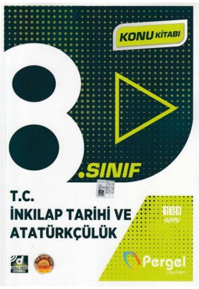 Pergel 8. Sınıf T.C. İnkılap Tarihi ve Atatürkçülük Konu Kitabı (Yeni)