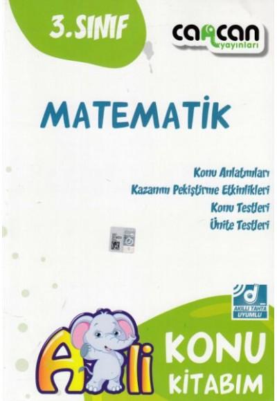 Cancan 3. Sınıf Matematik Afilli Konu Kitabım (Yeni)