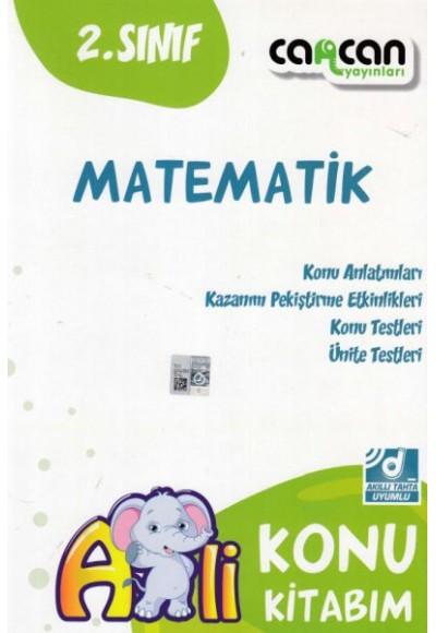 Cancan 2. Sınıf Matematik Afilli Konu Kitabım (Yeni)