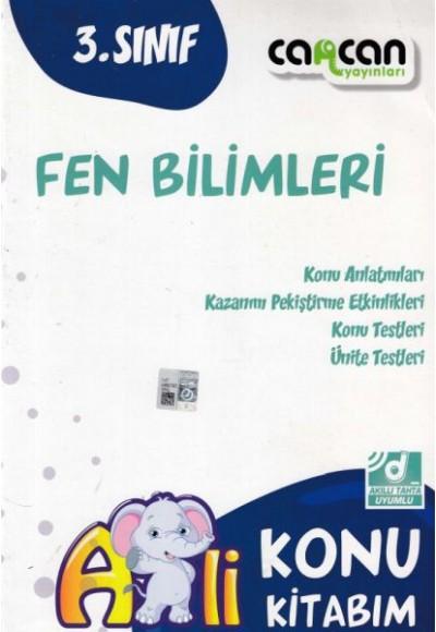 Cancan 3. Sınıf Fen Bilimleri Afilli Konu Kitabım (Yeni)