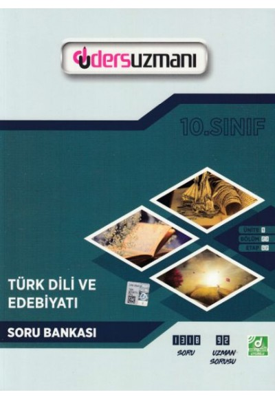 Ders Uzmanı 10. Sınıf Türk Dili ve Edebiyatı Soru Bankası (Yeni)