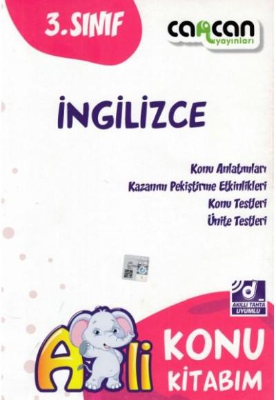 Cancan 3. Sınıf İngilizce Afilli Konu Kitabım (Yeni)
