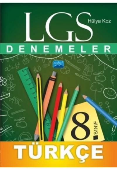 Nobel LGS 8. Sınıf Türkçe Denemeler