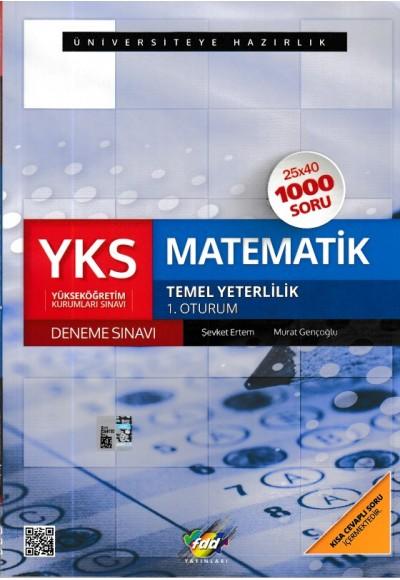 FDD YKS Temel Yeterlilik Matematik 1. Oturum Deneme Sınavı