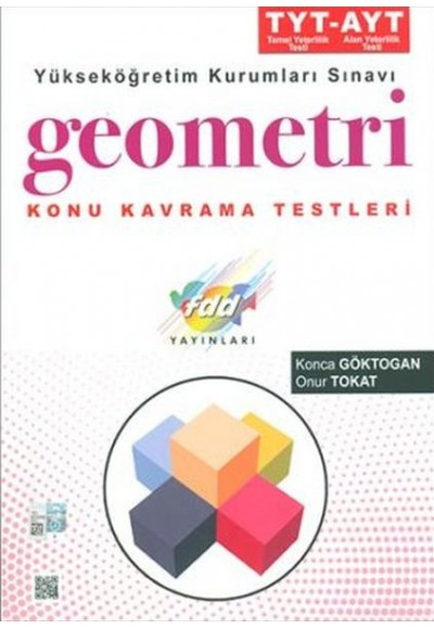 FDD TYT AYT Geometri Konu Kavrama Testleri Yeni