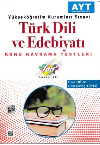 FDD AYT Türk Dili ve Edebiyatı Konu Kavrama Testleri Yeni