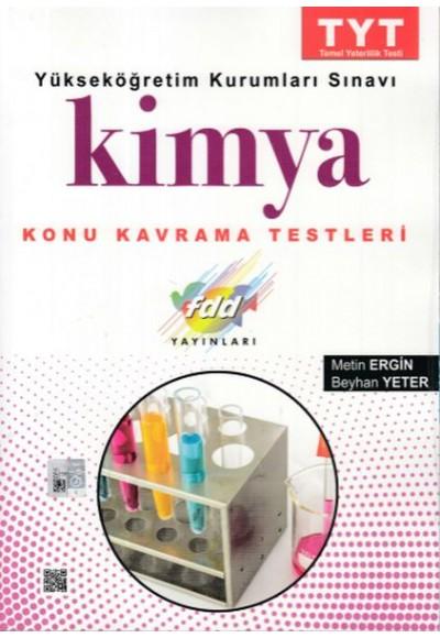 FDD TYT Kimya Konu Kavrama Testleri Yeni