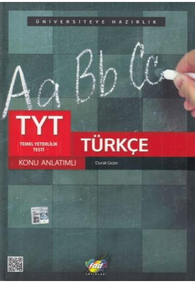 FDD TYT Türkçe Konu Anlatımlı Yeni
