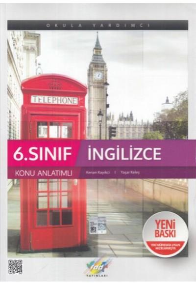 FDD 6. Sınıf İngilizce Konu Anlatımı Yeni