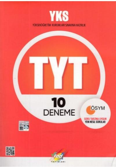 FDD YKS TYT 10 Deneme Yeni