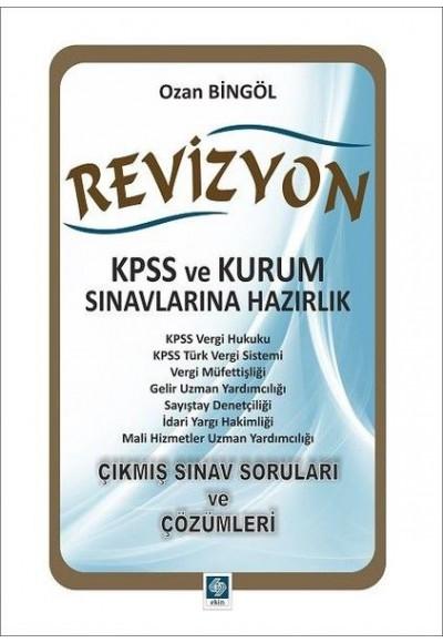 Revizyon KPSS ve Kurum Sınavlarına Hazırlık
