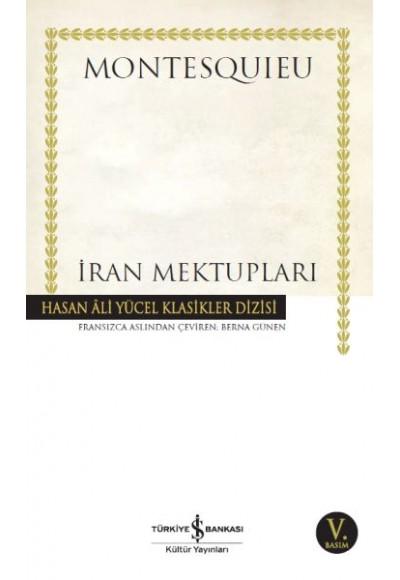 İran Mektupları Hasan Ali Yücel Klasikleri