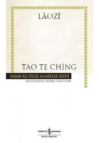 Tao Te Ching Hasan Ali Yücel Klasikleri Ciltli