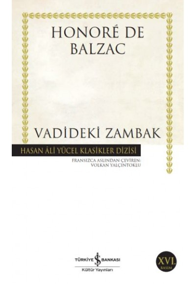 Vadideki Zambak Hasan Ali Yücel Klasikleri