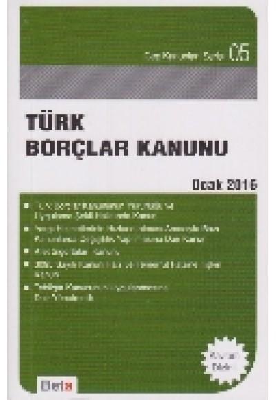 Cep 05 Türk Borçlar Kanunu
