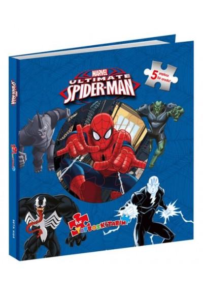 Marvel Ultimate Spider Man İlk Yapboz Kitabım 5 Yapboz Birarada