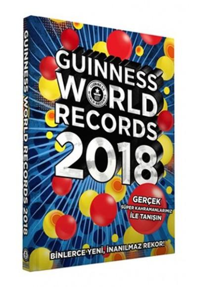 Guinness Dünya Rekorlar Kitabı Türkçe 2018 Ciltli