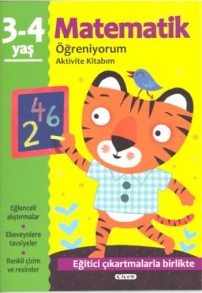 Aktivite Kitabım Matematik Öğreniyorum 3 4 Yaş