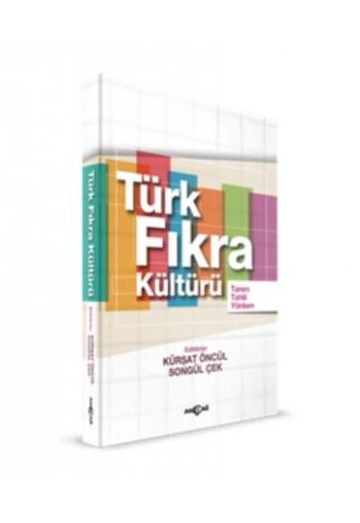 Türk Fıkra Kültürü Tanım Tahlil Yöntem