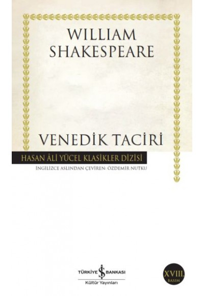 Venedik Taciri Hasan Ali Yücel Klasikleri