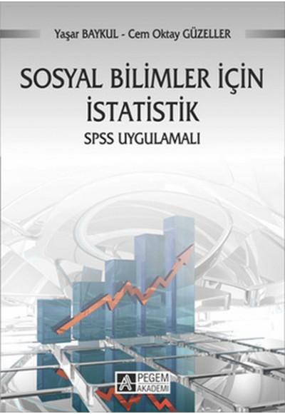Sosyal Bilimler İçin İstatistik SPSS Uygulamalı Prof. Dr. Yaşar Baykul
