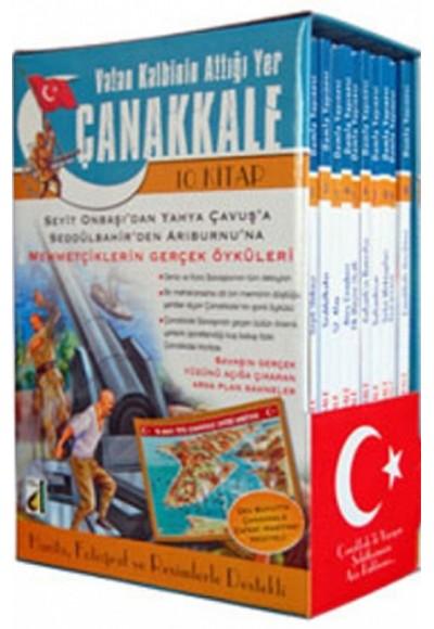 Vatan Kalbinin Attığı Yer Çanakkale 10 Kitap Takım