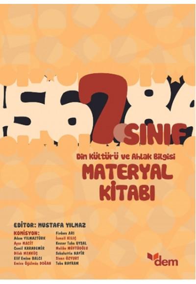 DEM 7. Sınıf Din Kültürü ve Ahlak Bilgisi Materyal Kitabı