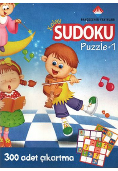 Kolay Sudoku Yapboz 5 7 Yaş